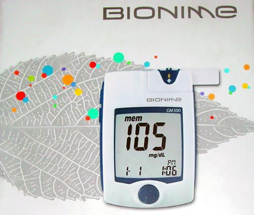 Глюкометр Bionime Rightest GM300 с уникальным кодирующим портом