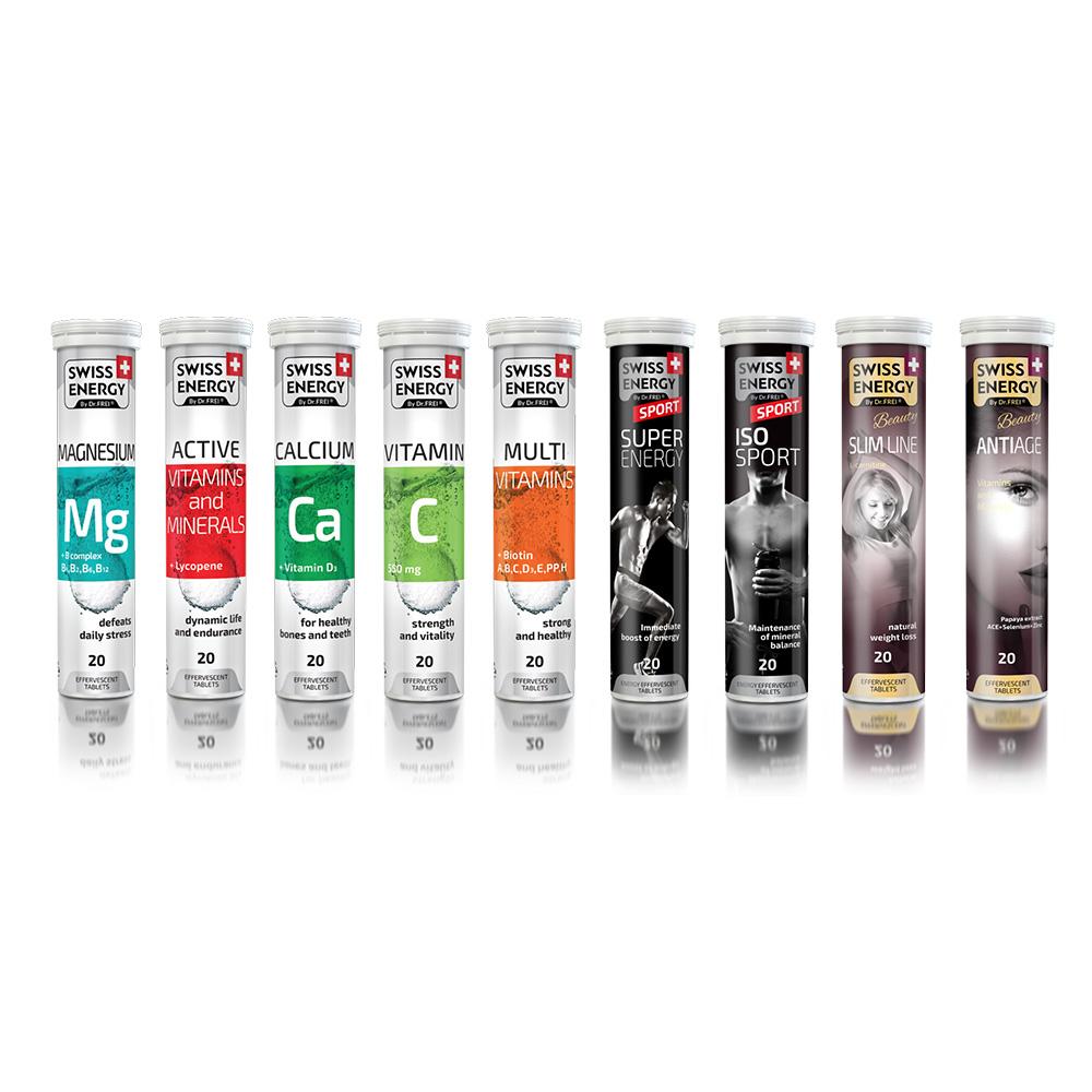 Акция Растворимые  Швейцарские витамины  TM Swiss Energy!